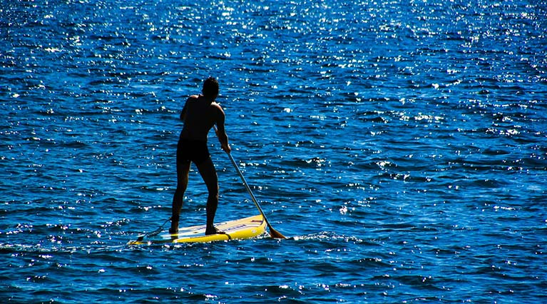 paddle boarding tips for beginners