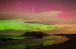 Southern Lights in New Zealand
